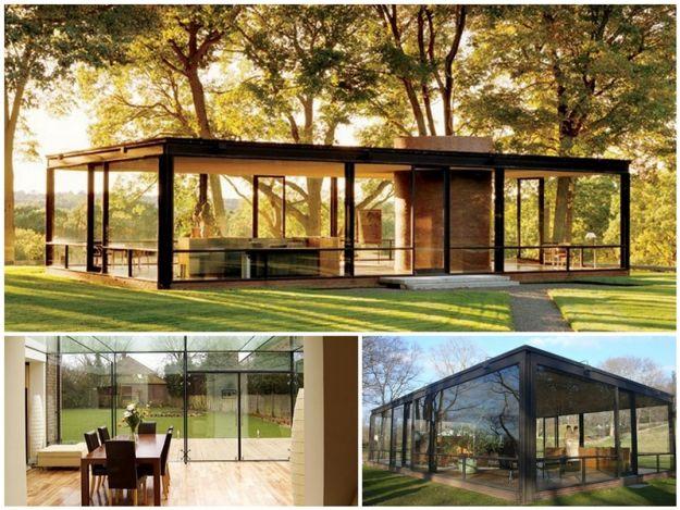 Szklane domy - bezkres przestrzenny