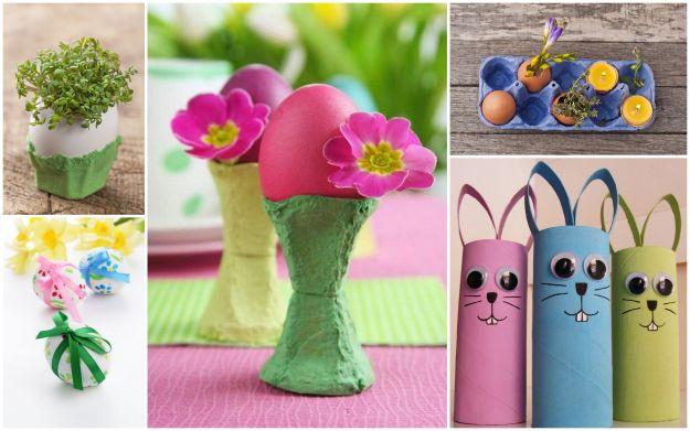 Dzieci�ce dekoracje wielkanocne - DIY