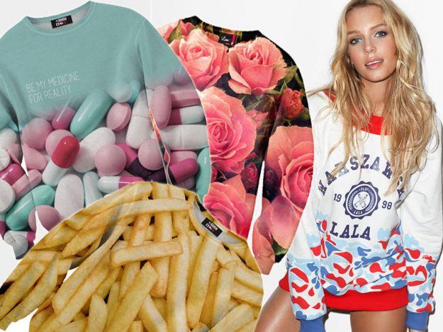 Polskie designerskie bluzy z nadrukiem - trendy 2014/2015