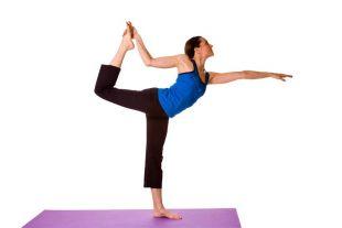 Joga – pozycje stoj�ce