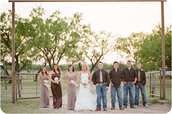 wesele w stylu country