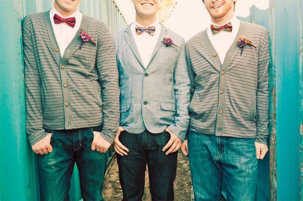 Jeansowy ślub