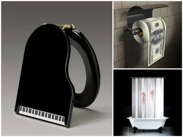 Zabawne gadżety do łazienki
