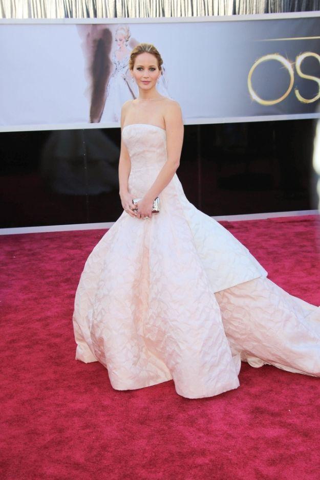 Najpiękniejsze suknie na rozdaniu Oscarów 2013