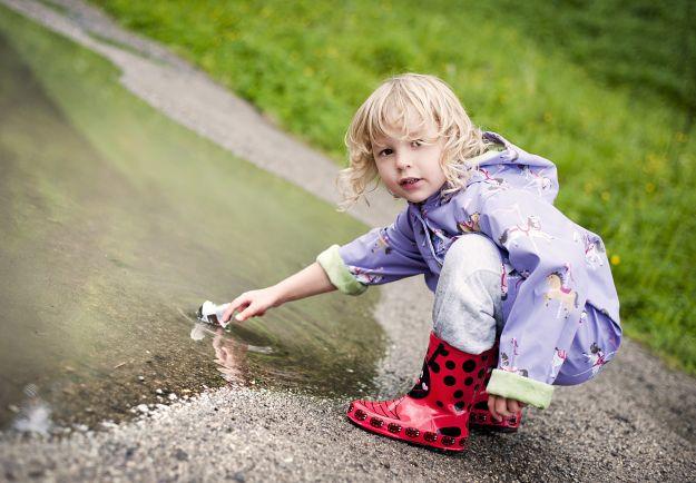 Kalosze dla dzieci - przegląd modnych modeli