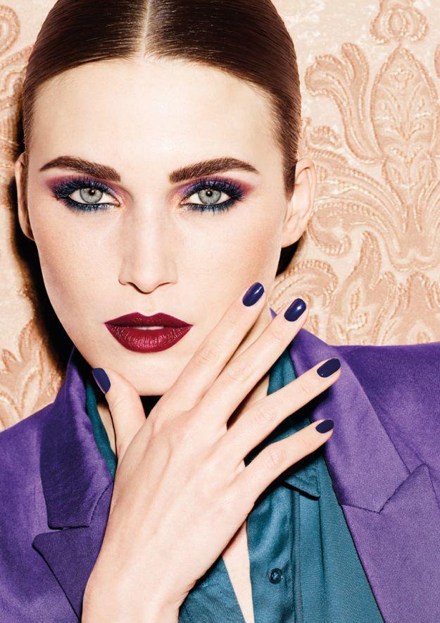Najmodniejsze makijaże na jesień 2014