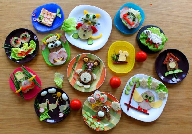 Kolorowe, wesołe i smaczne kanapki, nie tylko dla dzieci - Porady ...