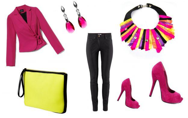 Różowy - trendy wiosna/lato 2012