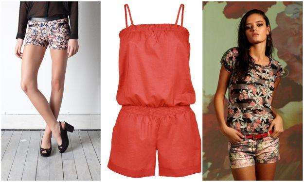 Moda na lato - namodniejsze szorty 2012