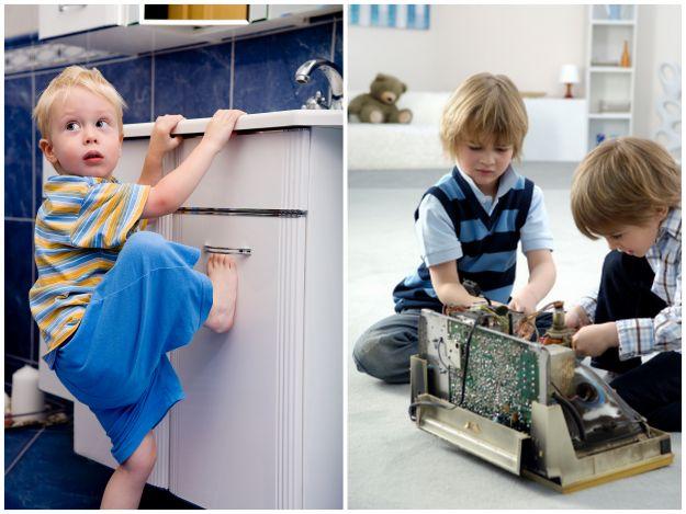 Dzieci w mieszkaniu