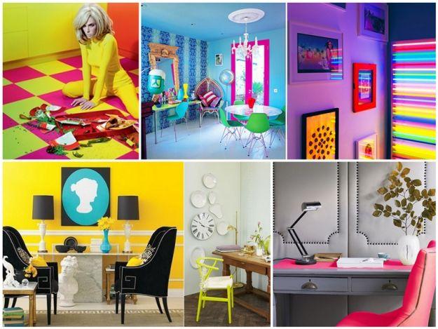 Neonowe wnętrze - hit 2013