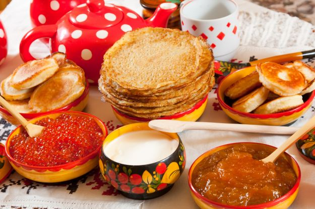 Bliny Rosyjskie Placuszki Kuchnie świata Polkipl
