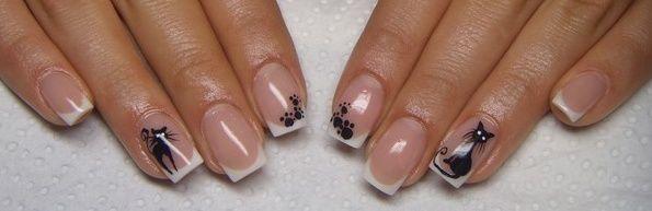 Manicure w kotki