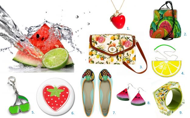 Moda na owoce - lato 2012!