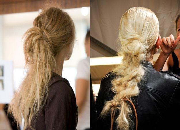 Fryzury dla mierzwiących się włosów