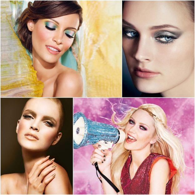 Pierwsza odsłona makijażowych trendów na wiosnę 2013