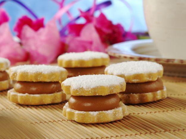 Ciasteczka z kajmakiem - przepis