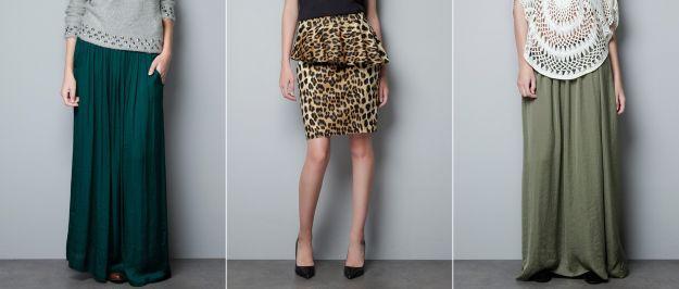 Nowe kolekcje - spódnice na jesień i zimę