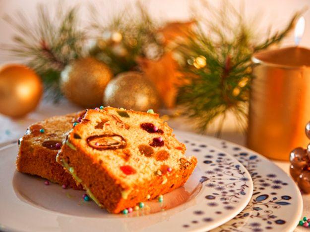 Świąteczny keks - przepis
