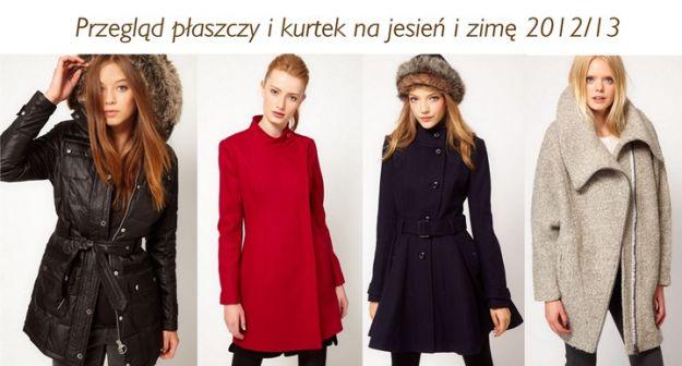 Płaszcze na jesień i zimę 2012/13