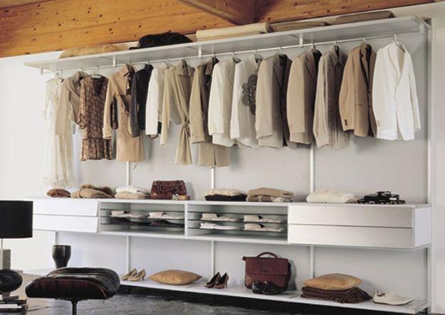 Aranżacja garderoby w 4 krokach