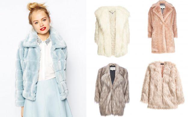 Pastelowe futerka - trendy jesień/zima 2014