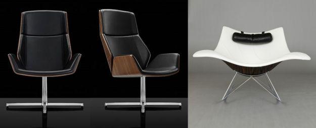 czarny i bialy fotel