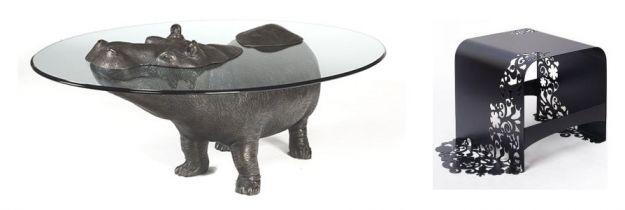 hipcio i wzorzysty stolik