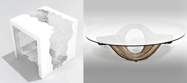 stoliki bardzo innowacyjne białe