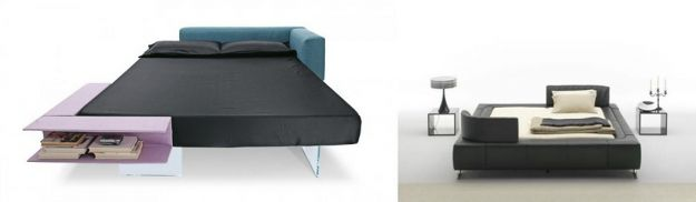łóżko prosty model