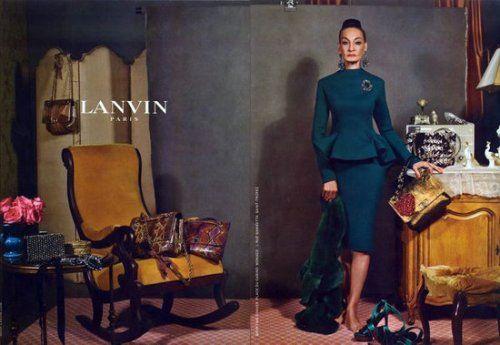 Zaskakująca kampania Lanvin!