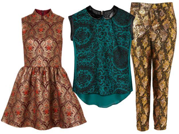 Moda na barok - złote hafty na topie!