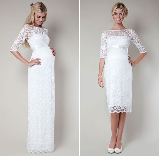 Ciążowe suknie ślubne
