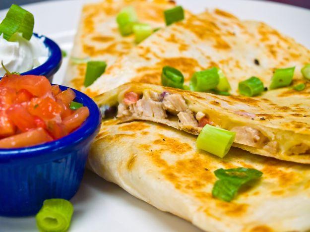 Quesadilla - meksykański przysmak śniadaniowy