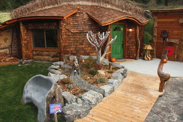 Domy inspirowane Hobbitem