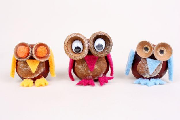 Prace plastyczne z kasztanów i żołędzi - 5 super pomysłów