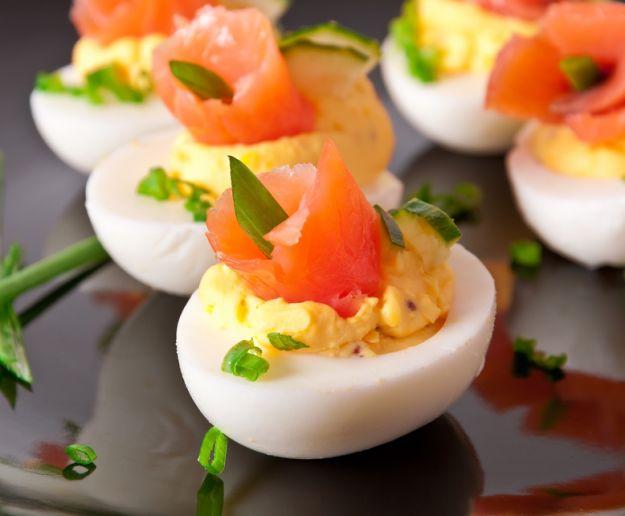 Przekąski z jajek