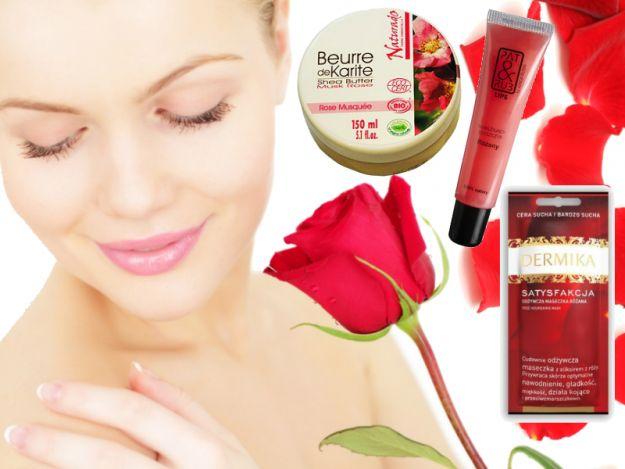 Kosmetyki z różą - odżywiają i odmładzają skórę