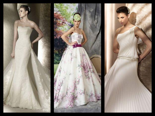 Trendy w sukniach �lubnych