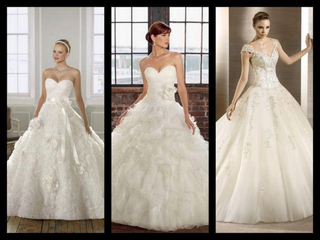 Trendy w sukniach ślubnych
