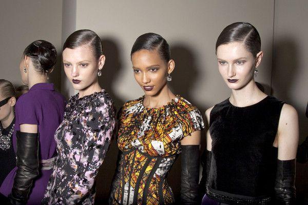 Jeżynowe usta - trendy 2012