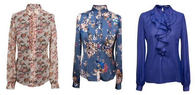 Nowe kolekcje - koszule i bluzki na jesień i zimę