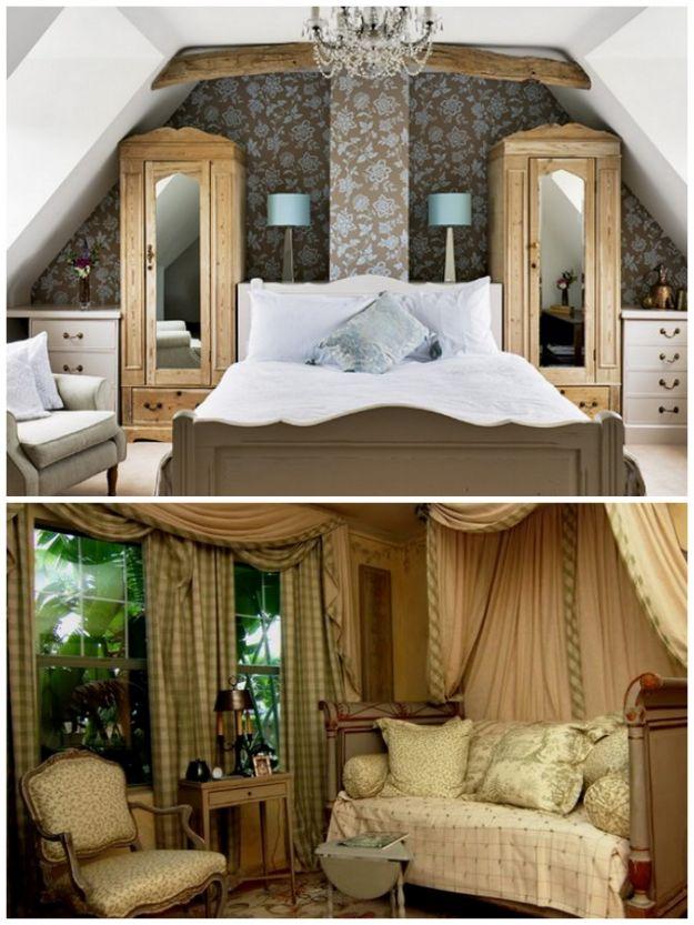sypialnia w odcieniach brązu