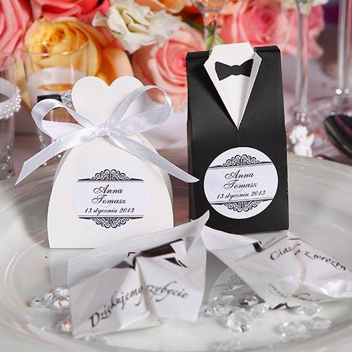 Prezenty dla gości weselnych - przegląd najciekawszych