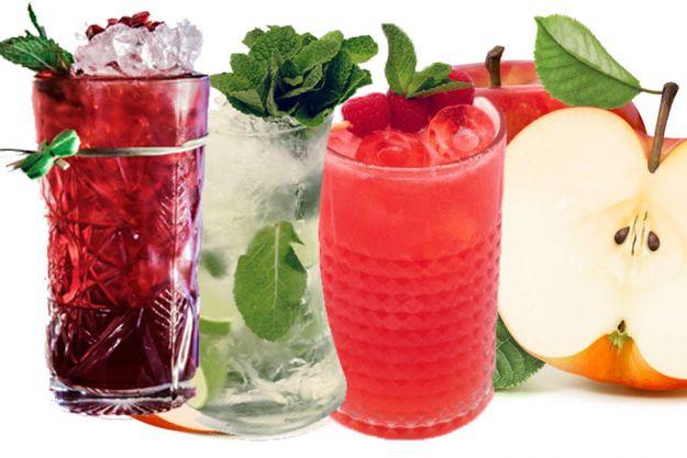 Orzeźwiające drinki z cydrem