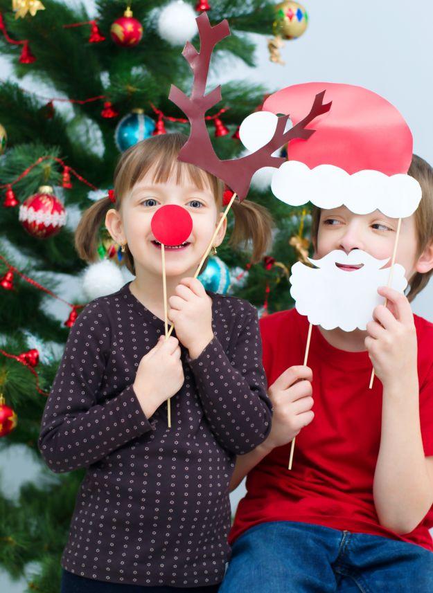 Świąteczne maski dla dzieci!
