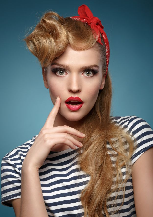 Makijaż w stylu pin-up