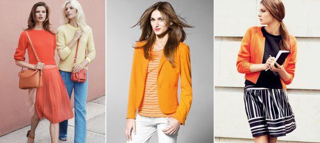 Kolory na wiosnę 2013: żółty i pomarańczowy