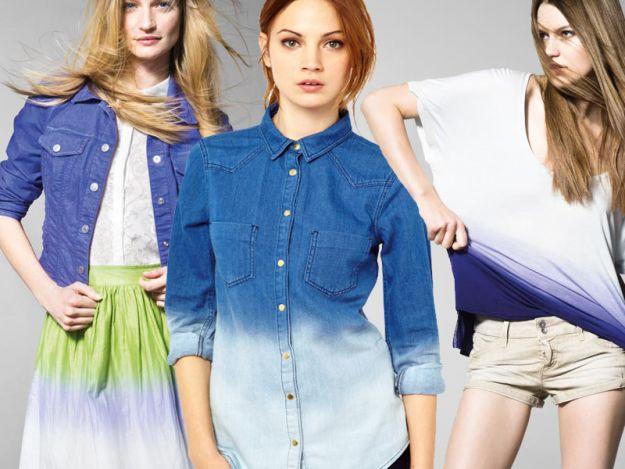 Cieniowane ubrania nadal modne!