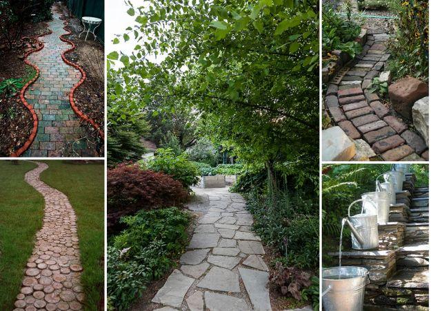 Niebanalna ścieżka ogrodowa